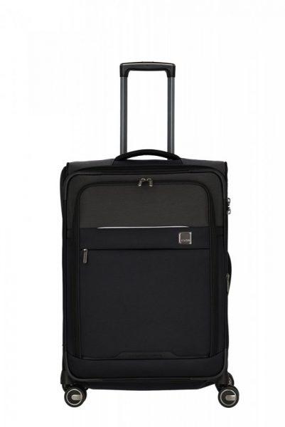 Titan Prime 4w M cestovní kufr TSA 68 cm 65-76 l Black