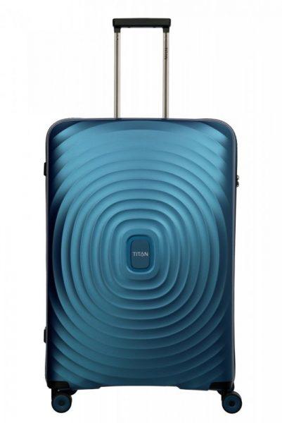 Titan Looping L cestovní kufr TSA 77 cm 105 l Petrol