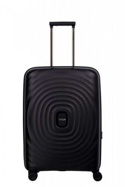 Titan Looping M cestovní kufr TSA 67 cm 71-82 l Black