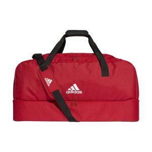 adidas Tiro Duffel Bag Bottom L červená Jednotná 5629661