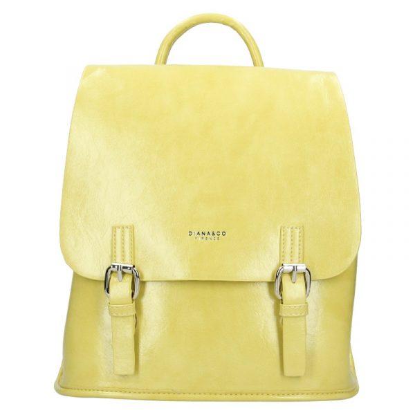 Dámská kabelka Diana & Co Amalia – žlutá
