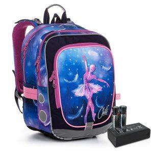 Svítící školní batoh Topgal ENDY 20006 BATTERY AA G