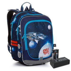 Svítící školní batoh Topgal ENDY 20017 BATTERY AA B