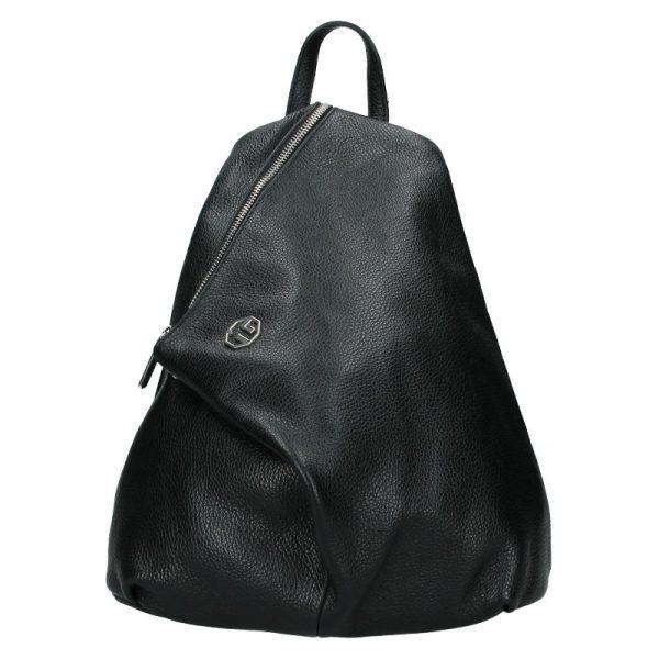 Dámský kožený batoh Marina Galanti Sofia – černá