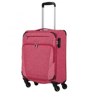 Travelite Kabinový cestovní kufr Jakku 4w S Red 33 l