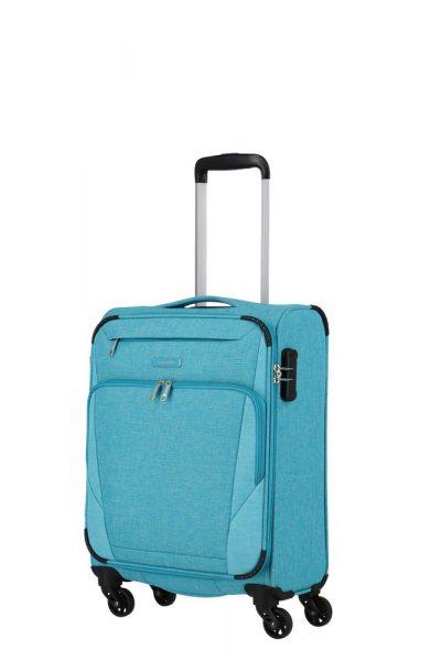 Travelite Kabinový cestovní kufr Jakku 4w S Turquoise 33 l