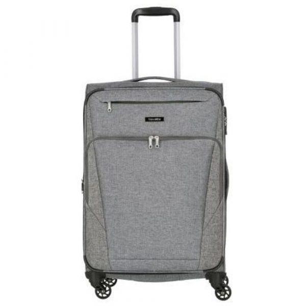 Travelite Cestovní kufr Jakku 4w M Anthracite 64/69 l