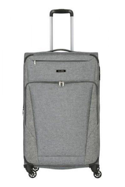 Travelite Velký cestovní kufr Jakku 4w L Anthracite 90/97 l