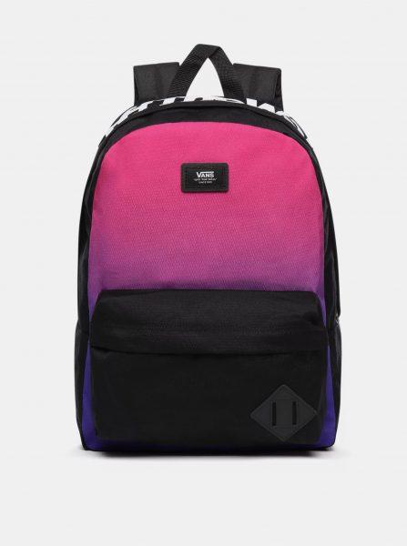 Černo-růžový batoh VANS