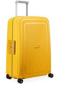Samsonite Cestovní kufr S'Cure Spinner 10U 70 l – Oranžová
