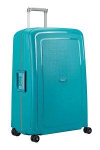Samsonite Cestovní kufr S'Cure Spinner 10U 102 l – Tmavě modrá