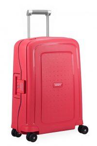 Samsonite Kabinový cestovní kufr S'Cure Spinner 10U 34 l – Růžová