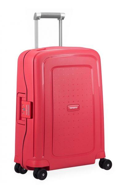 Samsonite Kabinový cestovní kufr S'Cure Spinner 10U 34 l – Tmavě modrá
