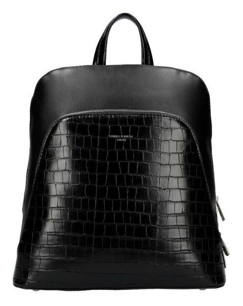 Černý dámský módní batůžek David Jones CM5615