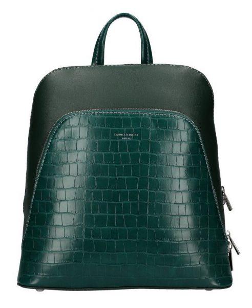 Zelený dámský módní batůžek David Jones CM5615