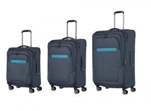 Travelite Sada cestovní kufrů Madeira S+M+L Navy/Blue