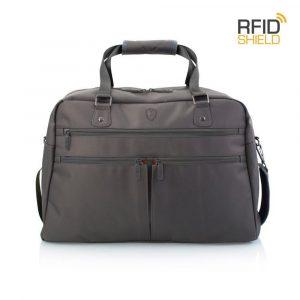 Heys Palubní taška HiLite Multi-Zip Boarding Duffel Grey 28 l