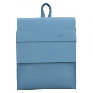 Dámský kožený batoh Facebag Apolens – světle modrá