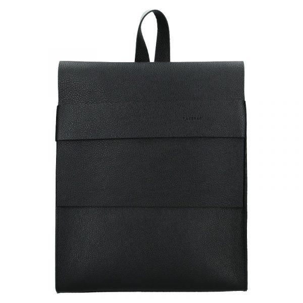 Dámský kožený batoh Facebag Apolens – černá