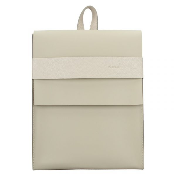 Dámský kožený batoh Facebag Apolens – béžová