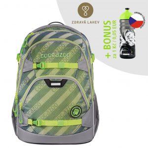 Coocazoo ScaleRale MeshFlash Neongreen certifikát AGR
