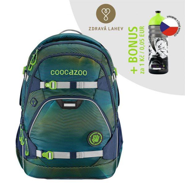 Coocazoo ScaleRale Soniclights Green AGR
