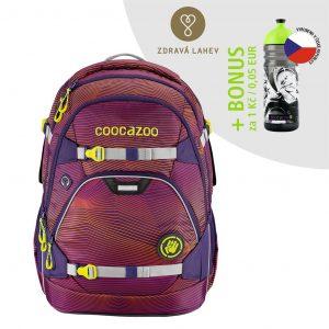 Coocazoo ScaleRale Soniclights Purple certifikát AGR