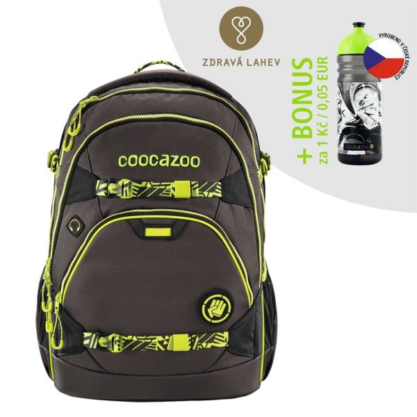 Coocazoo ScaleRale TecCheck Neon