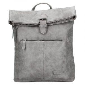 Moderní dámský batoh Enrico Benetti Nicolls – šedá