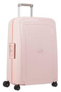 Samsonite Cestovní kufr S'Cure Spinner 10U 70 l – světle růžová