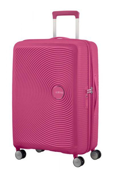 American Tourister Cestovní kufr Soundbox Spinner EXP 32G 97/110 l – růžová (magenta)