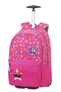 Samsonite Školní batoh na kolečkách Color Funtime 26 l – růžová