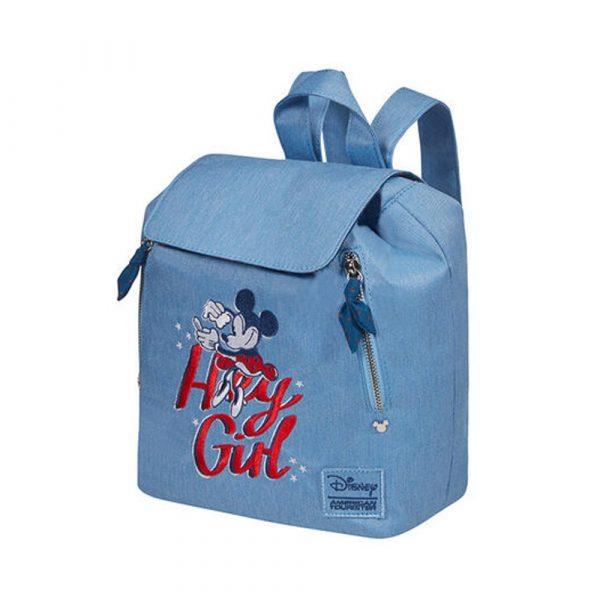 American Tourister Batoh Moder Glow Disney Minnie Darling Blue 7 l – Minnie Darling Blue