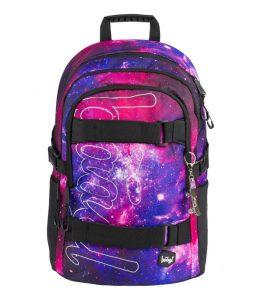 BAAGL Školní batoh Skate Galaxy 25 l