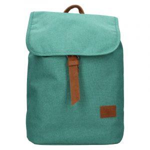 Trendy batoh New Rebels Adriana – zeleno-modrá
