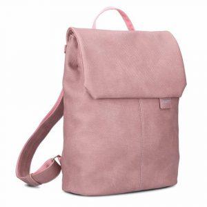 Zwei Dámský batoh Mademoiselle Canvas MR13 6l – růžová
