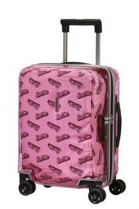 Samsonite Dětský cestovní kufr Neopulse Barbie 26 l – růžová