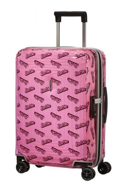 Samsonite Kabinový cestovní kufr Neopulse Barbie 38 l – růžová