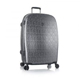 Heys Skořepinový cestovní kufr Motif Femme L Gunmetal 113 l