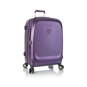 Heys Skořepinový cestovní kufr Gateway Widebody M Purple 83 l