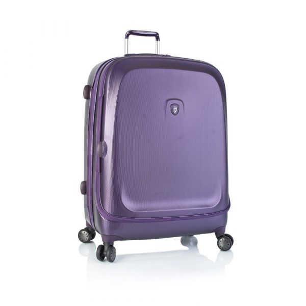 Heys Skořepinový cestovní kufr Gateway Widebody L Purple 137 l