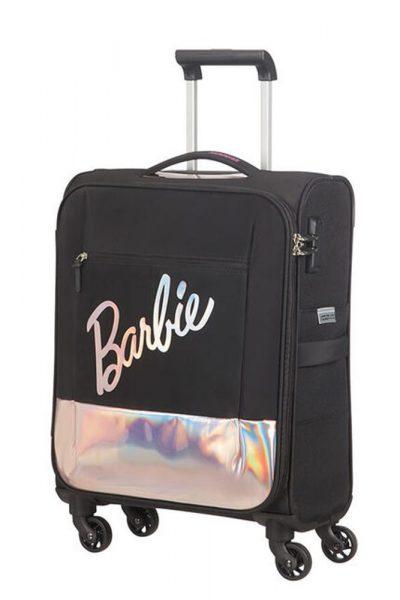 American Tourister Kabinový cestovní kufr Modern Glow Barbie Soft Spinner 39 l – černá