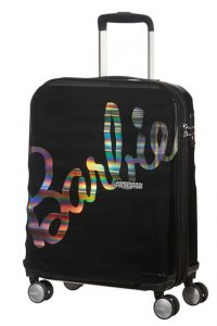 American Tourister Kabinový cestovní kufr Wavebreaker Barbie Spinner 36 l – černá