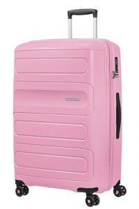 American Tourister Cestovní kufr Sunside 51G EXP 106/118 l – světle růžová