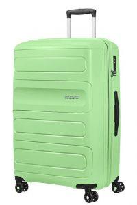 American Tourister Cestovní kufr Sunside 51G EXP 106/118 l – světle zelená
