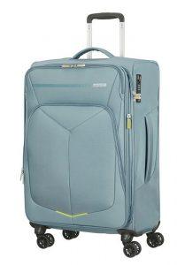 American Tourister Cestovní kufr Summerfunk Spinner EXP 78G 71,5/77 l – světle šedá