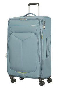 American Tourister Cestovní kufr Summerfunk Spinner EXP 78G 109,5/119 l – světle šedá