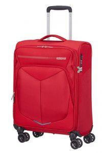 American Tourister Kabinový cestovní kufr Summerfunk Strict Spinner 78G 40 l – červená