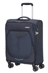 American Tourister Kabinový cestovní kufr Summerfunk Strict Spinner 78G 40 l – tmavě modrá