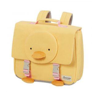 Samsonite Školní taška Happy Sammies S Duck Dodie 9 l – žlutá
